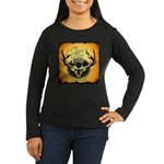 lodge logo Women's Long Sleeve Dark T-Shirt