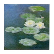 Claude Monet Water Lilies Tile Coaster