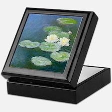 Claude Monet Water Lilies Keepsake Box