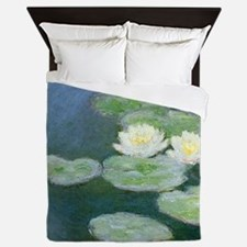 Claude Monet Water Lilies Queen Duvet
