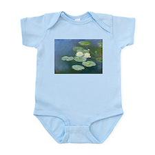 Claude Monet Water Lilies Onesie