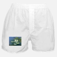 Claude Monet Water Lilies Boxer Shorts
