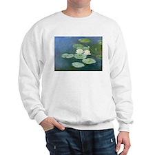 Claude Monet Water Lilies Sweatshirt