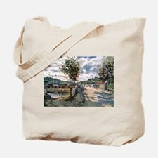 Monet The Seine at Bougival Tote Bag
