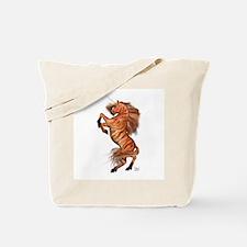 Wild Tiger Unicorn Tote Bag