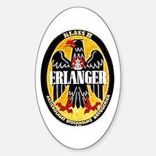 Sweden Beer Label 1 Sticker (Oval)