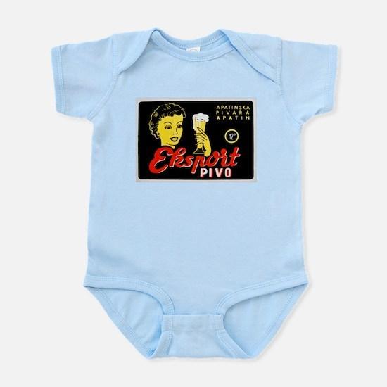 Serbia Beer Label 1 Infant Bodysuit