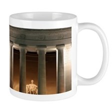 Lincoln memorial at night Mug