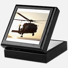 Navy Rescue Helicopter Keepsake Box