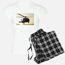 Navy Rescue Helicopter Pajamas