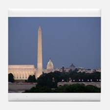 Lincoln Memorial, Washington Monument and US Capit