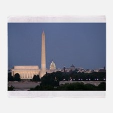Lincoln Memorial, Washington Monument and US Capi