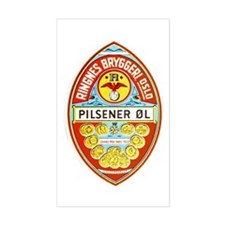 Norway Beer Label 8 Decal