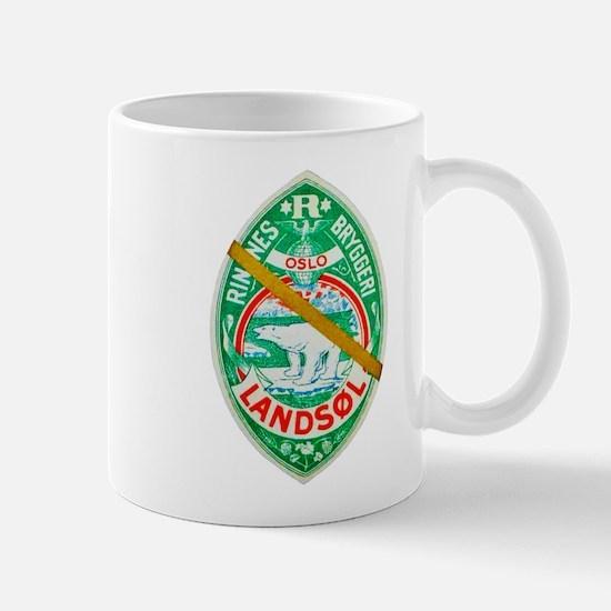 Norway Beer Label 7 Mug