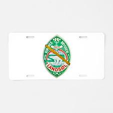 Norway Beer Label 7 Aluminum License Plate