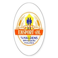 Norway Beer Label 5 Decal