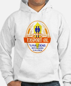 Norway Beer Label 5 Hoodie