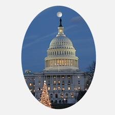 US Capitol Building celebrates Christmas Ornament
