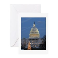 US Capitol Building celebrates Christmas Greeting