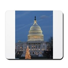 US Capitol Building celebrates Christmas Mousepad