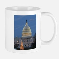 US Capitol Building celebrates Christmas Mug