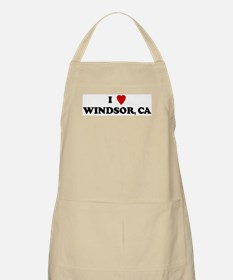 I Love WINDSOR BBQ Apron