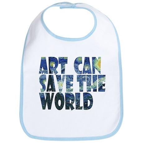 art can save the world Bib