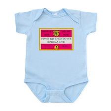 Poland Beer Label 12 Infant Bodysuit
