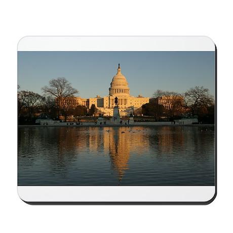 US Capitol Building Sunset Mousepad