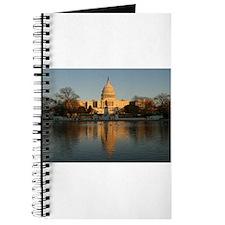 US Capitol Building Sunset Journal
