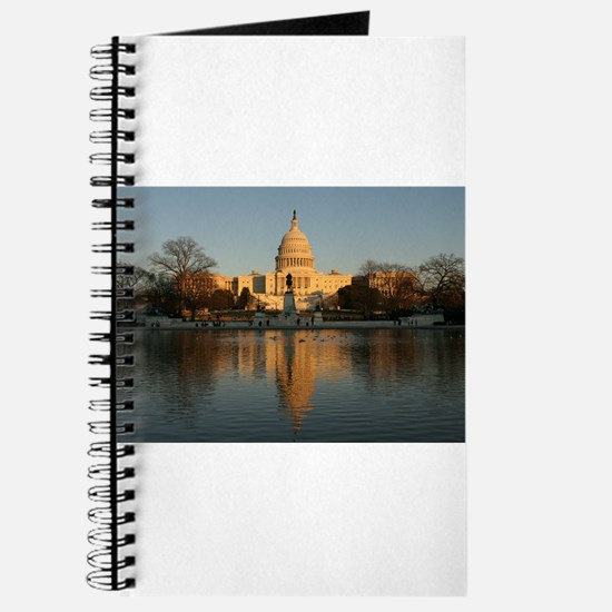 US Capitol Building Sunset Journal