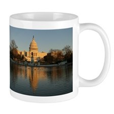 US Capitol Building Sunset Mug