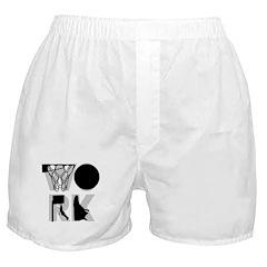 WORK - Basketball Boxer Shorts