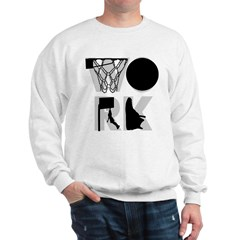 WORK - Basketball Sweatshirt
