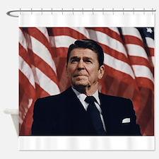 Ronald Reagan Shower Curtain