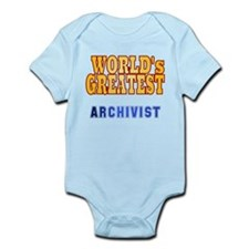 World's Greatest Archivist Infant Bodysuit