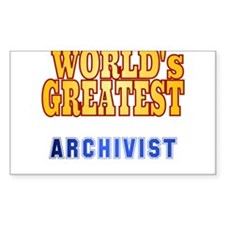 World's Greatest Archivist Decal