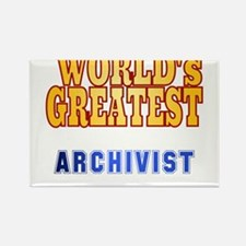 World's Greatest Archivist Rectangle Magnet