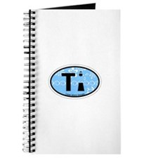 Tybee Island GA - Oval Design. Journal