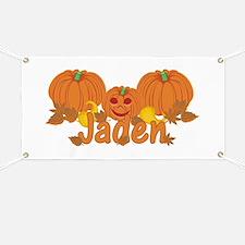 Halloween Pumpkin Jaden Banner