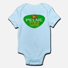 Poland Beer Label 11 Infant Bodysuit