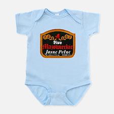 Poland Beer Label 10 Infant Bodysuit