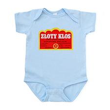 Poland Beer Label 9 Infant Bodysuit