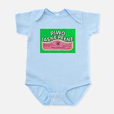 Poland Beer Label 8 Infant Bodysuit