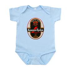 Poland Beer Label 6 Infant Bodysuit