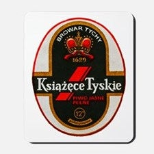 Poland Beer Label 6 Mousepad