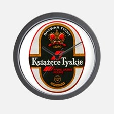 Poland Beer Label 6 Wall Clock