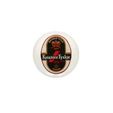 Poland Beer Label 6 Mini Button (10 pack)