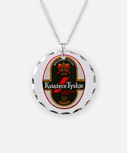 Poland Beer Label 6 Necklace Circle Charm
