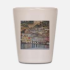 Klimt Malcesine on Lake Garda Shot Glass